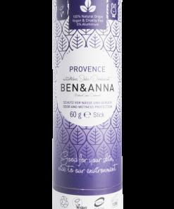 Prírodný dezodorant v papierovej tube BEN&ANNA, 60g – Provence