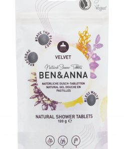 Sprchový gél BEN&ANNA tablety, 120g – Velvet