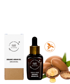 MARK organic Argan oil, 30 ml – pre starostivosť o pokožku aj vlasy
