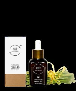 MARK organic oil Lemongrass, 30 ml – s marhuľou, hroznovým olejom a vitamínom E