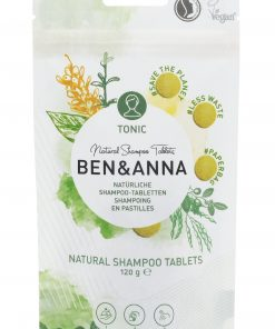 Šampón BEN&ANNA tablety, 120g – Tonic
